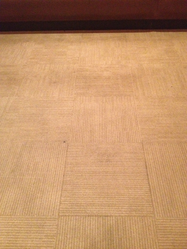 dirty commercial carpet