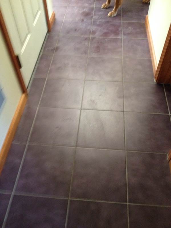 Grout Cleaning Before Picture Albany Ny