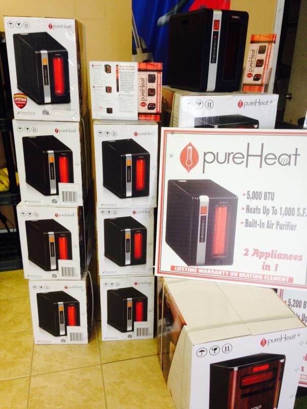 Capital vacuums Heaters